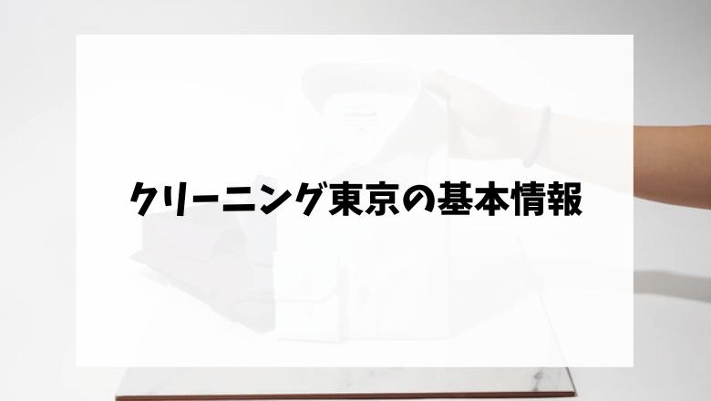 クリーニング東京の料金システム