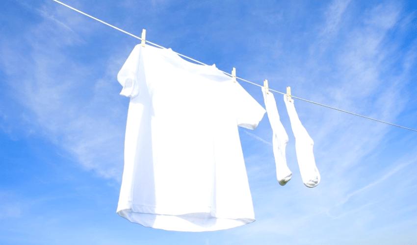 クリーニングされた衣類