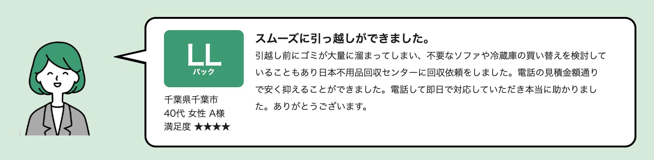 日本不用品回収センターの口コミ評判